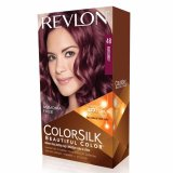 Jual Revlon Colorsilk Hair Color Burgundy Baru