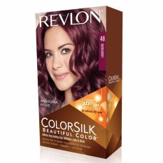 Model Revlon Colorsilk Hair Color Burgundy Terbaru