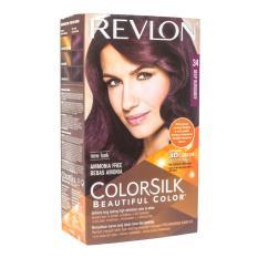 Jual Revlon Hair Colorsilk Deep Burgundy 34 Revlon