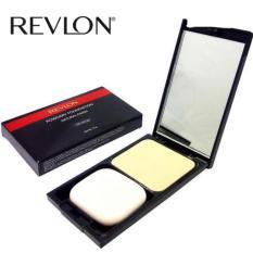 Review Revlon Powdery Foundation Natural Finish 03 Peach