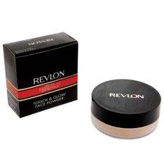 Revlon Touch & Glow Extra Moisturizing Face Powder No 24 Creamy Peach - 24 gram