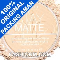 Spesifikasi Rimmel London Stay Matte Pressed Powder Transparent 001 Rimmel