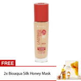 Jual Rimmel Long Lasting Finish Foundation Soft Beige Free 2Pcs Bioaqua Honey Silk Mask 30Gr Rimmel