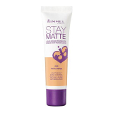 Harga Ready Stock Rimmel Stay Matte Foundation True Beige Indonesia