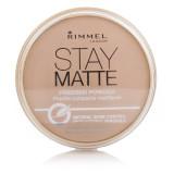 Harga Rimmel Stay Matte Pressed Powder Silky Beige Original