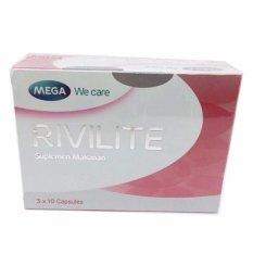 Harga Delin Store Rivilite 1 Box Pemutih Wajah Pencerah Wajah Bisa Cod Yang Murah Dan Bagus