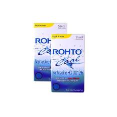 ROHTO COOL EYE DROP 7 ML (2 BOTOL)