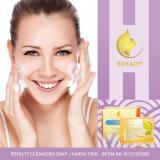 Harga Hemat Royalty Cleansing Soap Sabun Pembersih Wajah Bekas Jerawat Dan Flek Hitam Alami Ori 100