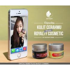 Jual Royalty Day Cream Pemutih Wajah Alami Night Cream Pemutih Wajah Cepat 15 Gr Royalty Cosmetic Branded