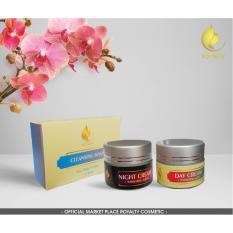 Beli Royalty Gold Package Cream Pemutih Wajah Yang Aman Untuk Ibu Hamil Pencerah Wajah Alami Cicil