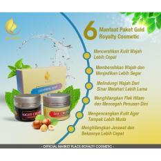 Royalty Gold Package Merk Cream Pemutih Wajah Paling Ampuh Penghilang Komedo Dan Jerawat Royalty Cosmetic Diskon