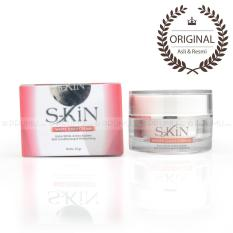 S-Kin White daily Cream - Krim Wajah - Krim Pencerah - Brightening Skin - Normal & Dry Skin