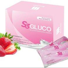 Toko S3 Gluco Glutathione Collagen 1 Box 15 Sachet Lengkap