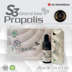Jual S3 Propolis Grand Bee 1 Box 5 Botol S3 Indonesia Murah