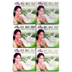 Spesifikasi Sabun Beras Susu Thailand Original 6Pcs Terbaru