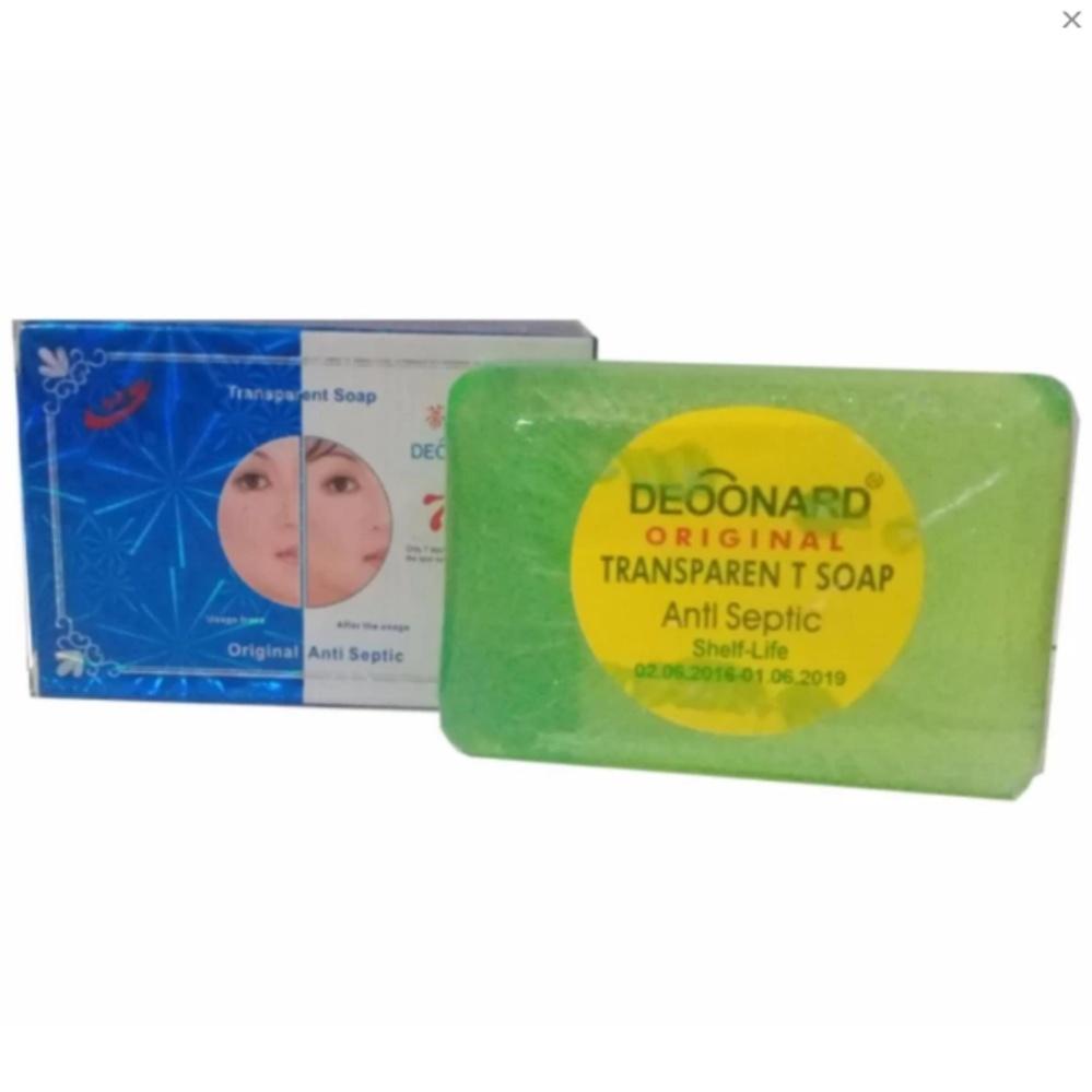 Sabun Deoonard Blue 7 Days Original Anti Septic - perawatan anti jerawat. Menghaluskan kulit wajah