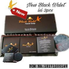 Sabun New Black Walet Asli Isi 3 Pcs Jawa Barat