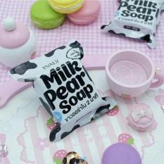 [SABUN PEMUTIH] Milk Pearl Soap (LEBIH BAGUS DARI JELLYS GLUTA SOAP DAN FRUITAMIN SOAP)
