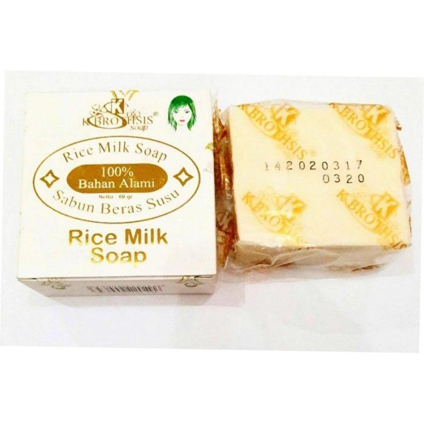 Sabun Susu Beras K Brothers Rice Milk Soap Thai Bpom 1 Pcs Lazada Indonesia