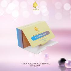 Sabun Wajah Alami Untuk Kulit Sensitif Royalty Cosmetic Soap Cleansing Penghilang Noda Bekas Jerawat Komedo Untuk Membersihkan Wajah Dari Jerawat Dan Komedo Murah