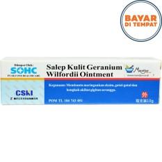 Salep Kulit Geranium Wilfordii Ointment (Eksim- Gatal- Bengkak- Ruam)