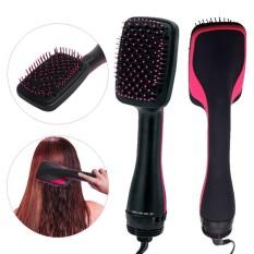 Salon Kecantikan 2 In 1 1000 W Smoothing Rambut Dryer & Paddle Brush Hair Styler Sisir UNI EROPA-Internasional