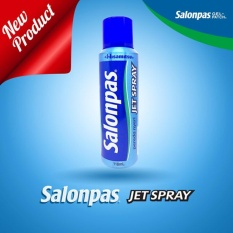 Model Salonpas Pain Relieving Jet Spray Pereda Sakit 118 Ml Terbaru