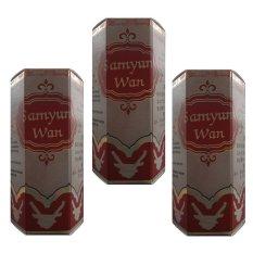 Spesifikasi Sam Yun Wan 3Pcs Obat Herbal Menyehatkan Serta Menambah Tenaga Dan Berat Badan Online