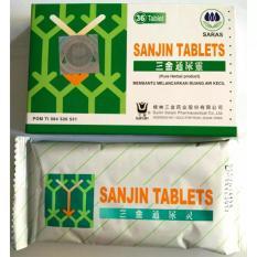 Sanjin Tablet (SSA) 36'S - Obat Pereda Panas Dalam, Obat Sariawan, Obat Batuk, Sakit Tenggorokan, Tenggorokan Kering