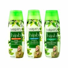 Sariayu Paket Hijab Series A 3 in 1 - isi 1 Shampo 1 Conditioner 1 Hair Tonic Lotion - @180ml