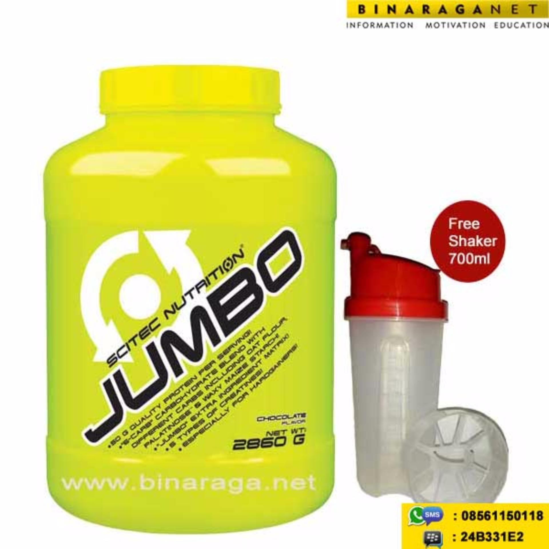 Beli sekarang Scitec Nutrition - Jumbo 6 Lbs Chocolate terbaik murah - Hanya Rp705.478