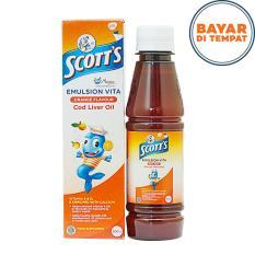 Scott's Emulsion 200 Ml - Suplemen Untuk Pertumbuhan Tinggi Badan Anak