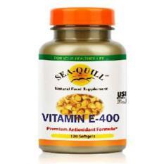 Sea Quill Vitamin E 400 IU (D-Alpha Tocopherol Acetate)