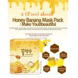 Toko Secret Key Honey Banana Mask Pack 25G X 5 Sheets Terlengkap