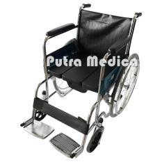 Sella Commode Wheel Chair / Kursi Roda 2in1 BAB BAK FS609