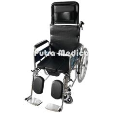 Sella Commode Wheel Chair / Kursi Roda 3in1 BAB BAK KY609GC