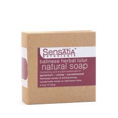 Jual Sensatia Botanicals Balinese Herbal Lulur Natural Soap 125 Gr Satu Set