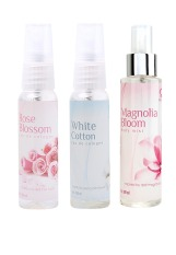 Harga Senswell Get 3 Edc Rose Cotton Bloom 100Ml Original