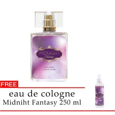 Spesifikasi Senswell Eau De Parfum Midnight Fantasy 50Ml Free Eau De Cologne Midnight Fantasy 250Ml Yang Bagus