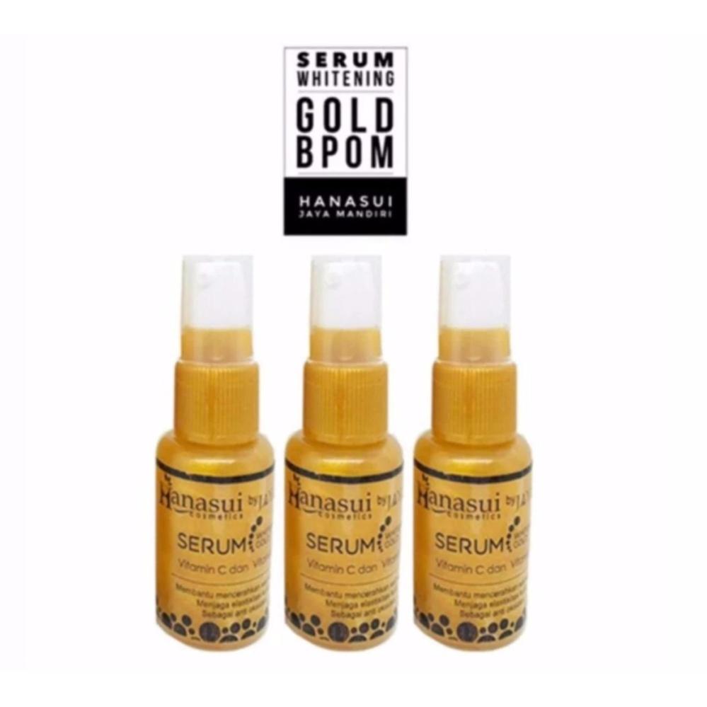 Harga Murah Serum Gold Hanasui Whitening 3 Botol Info Hanasuiii