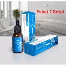 Serum Vitamin C Hanasui + Collagen 20 ml Botol Biru - 2 Botol