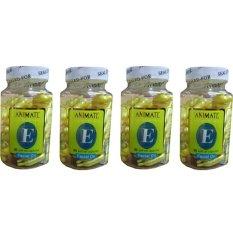 Beli Barang Serum Vitamin Wajah Animate Aloe Vera F*c**l Oil 240 Softgels Online