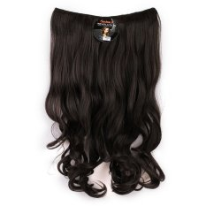 Seven 7 Revolution Hair Clip Keriting Wavy Black  Big Layer 60 cm - Hitam / Hairclip Korea