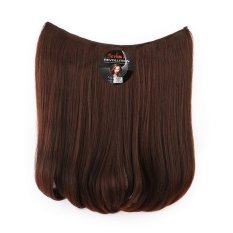 Beli Seven 7 Revolution Hair Clip Short Blow Darkbrown Big Layer 40 Cm Coklat Tua Dark Brown Hairclip Korea Yang Bagus
