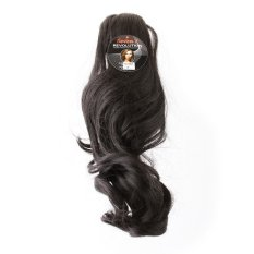 Diskon Seven 7 Revolution Hairclip Ponytail Jepit Curly Short 35 Cm Hitam Hair Clip Klip Korea Branded