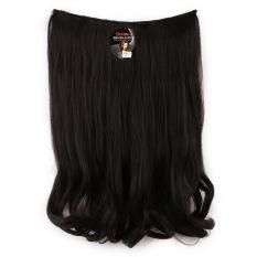 Seven 7 Revolution HairClip Short Wavy Black Big Layer 50 cm -Hitam Hair Clip Korea
