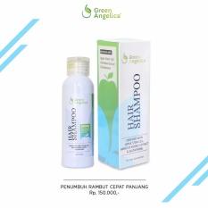 Harga Shampo Penumbuh Rambut Rontok Parah Menghilangkan Ketombe Bercabang Berminyak Dan Kusut Green Angelica Hair Regrowth Shampoo Branded