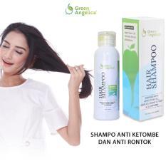 Shampo Untuk Mengatasi Rambut Rontok Ketombe dan Rambut Kering by Green Angelica 100% ASLI
