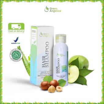 Harga Shampo Untuk Rambut Rontok Berketombe Dan Berminyak Green Angelica Hair Shampo Shampo Rambut Cepat Panjang 100 Original Product Dan Halal Baru