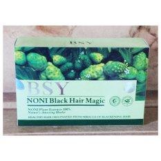 Jual Shampoo Bsy Noni Black Harga Per Box Isi 20 Sachet Perawatan Rambut Branded Murah